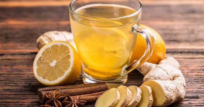 مصرف چای زنجبیل برای کاهش درد پریودی