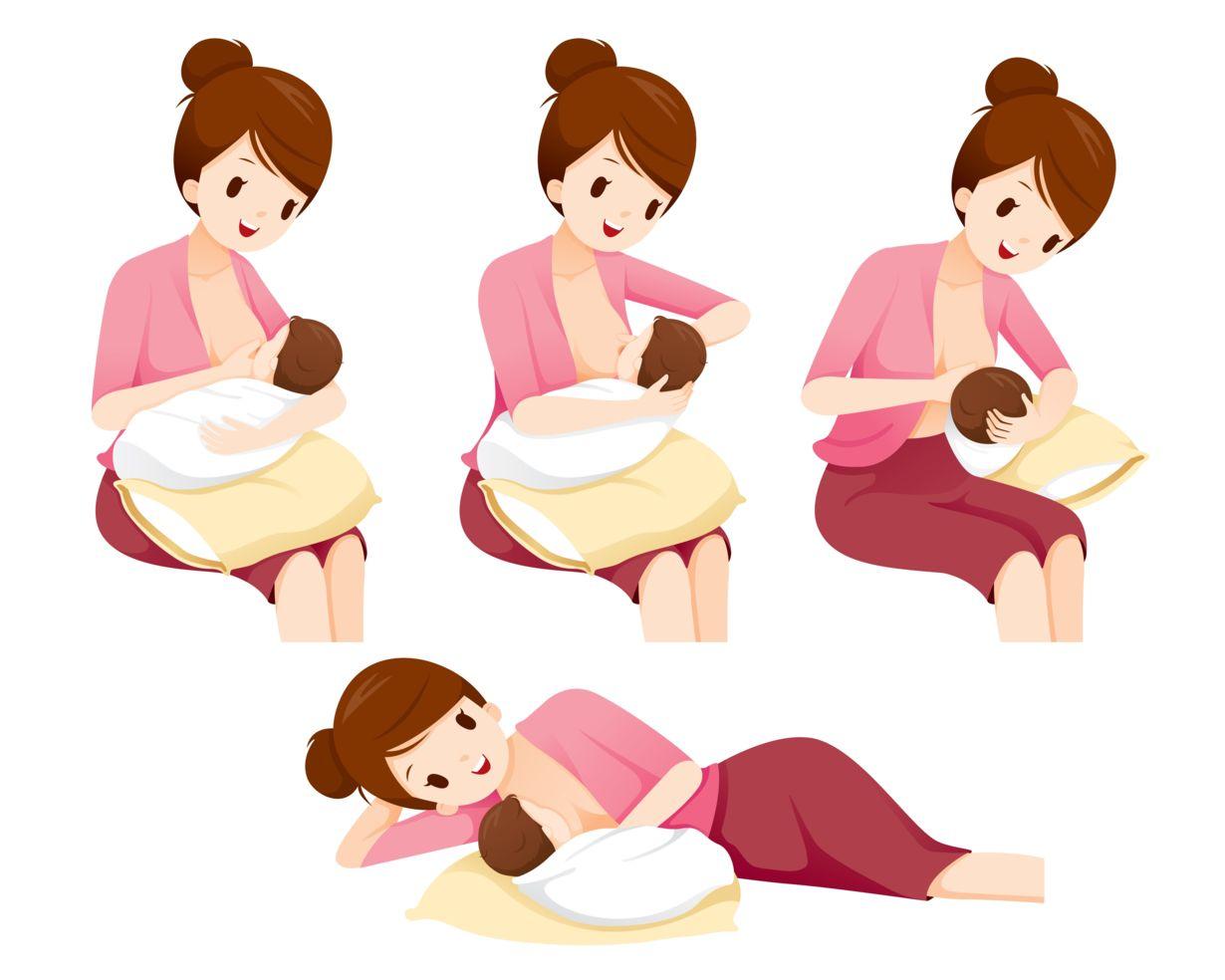 قرار دادن نوک پستان در معرض هوا
