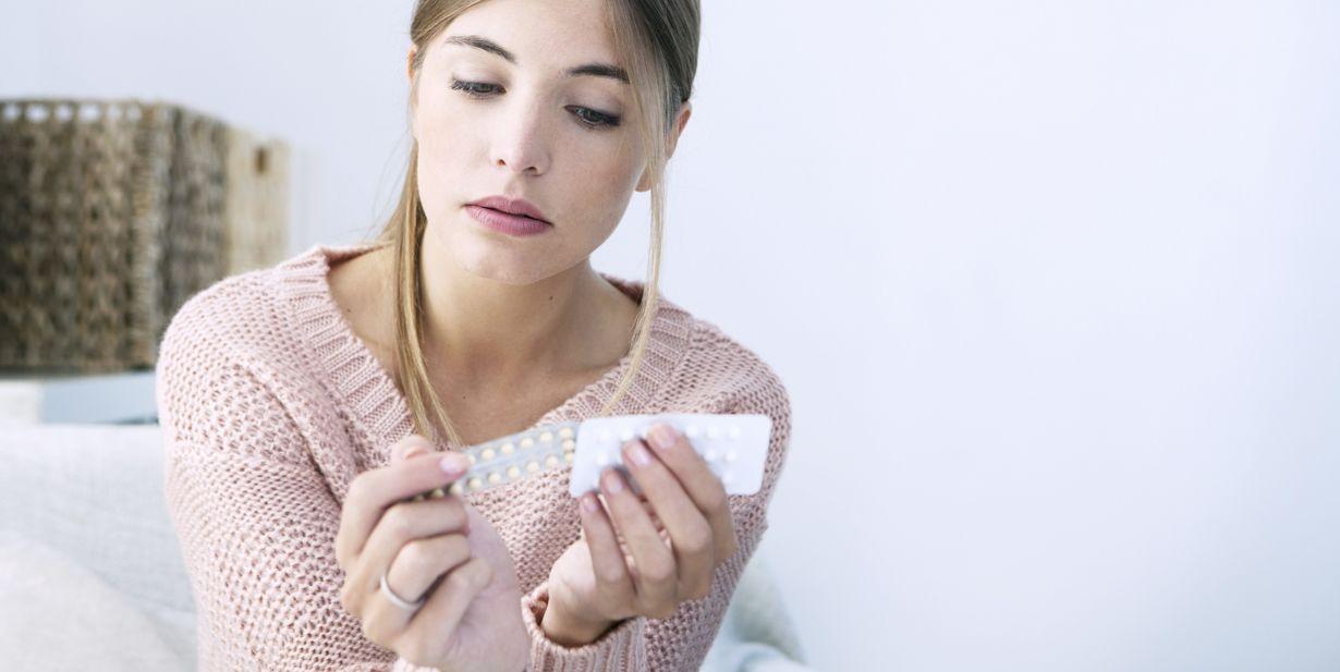 مصرف قرص های ضد بارداری برای جلوگیری از جوش قبل از پریود
