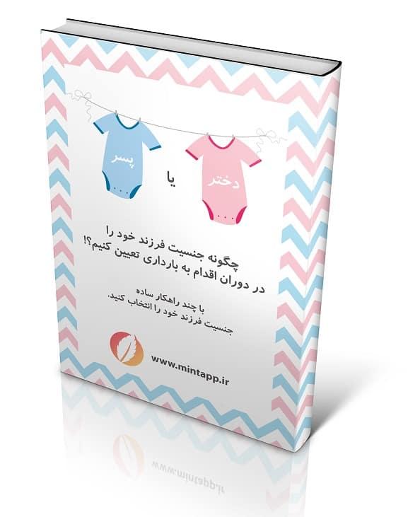 کتاب انتخاب جنسیت جنین در دوران اقدام به بارداری