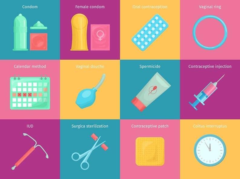 تاثییرگذاری روش های جلوگیری از بارداری