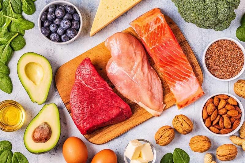 استفاده از پروتئین در سالاد رژیمی